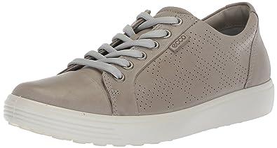 45698c6ea ECCO Women's Women's Soft 7 Fashion Sneaker, Wild Dove Perforated, 35 M EU (