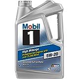 Mobil 1 (120768) High Mileage 5W-20 Motor Oil - 5 Quart