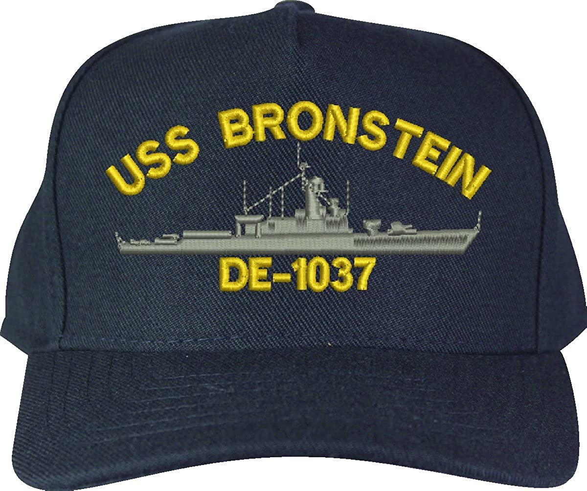 DE Frigate Ship Cap MilitaryBest Custom Bronstein