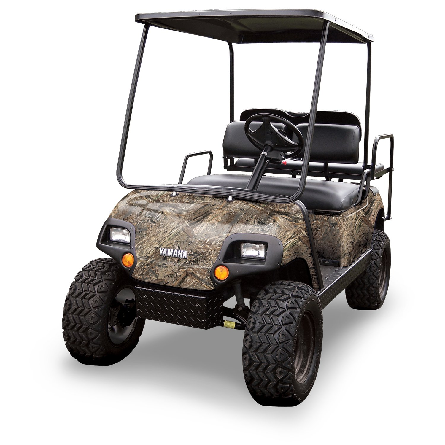 Mossy Oak Graphics (10060-DB) Duck Blind 4' x 10' Roll Golf Cart Camouflage Kit
