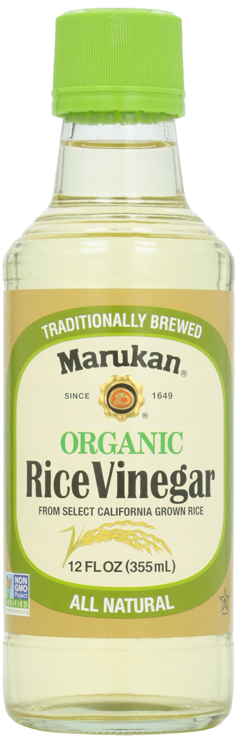 Marukan, Organic Rice Vinegar, 12 oz