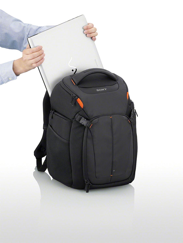 Sony lcsbp3 DSLR Sistema mochila con portátil de almacenamiento, (negro): Amazon.es: Electrónica