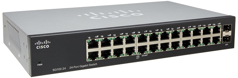 Amazon.com: Cisco Compact 24-Port Gigabit Switch with 2 Combo Mini