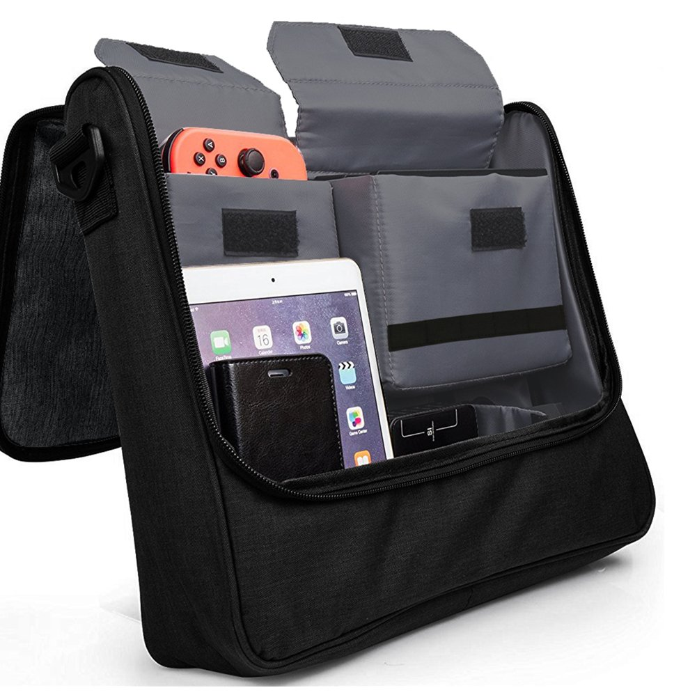 73c2e0c94576f Amazon.com: Soyan Messenger Bag for Nintendo Switch, Holds the Switch  Console, Pro Controller, Dock and Other Accessories: Video Games