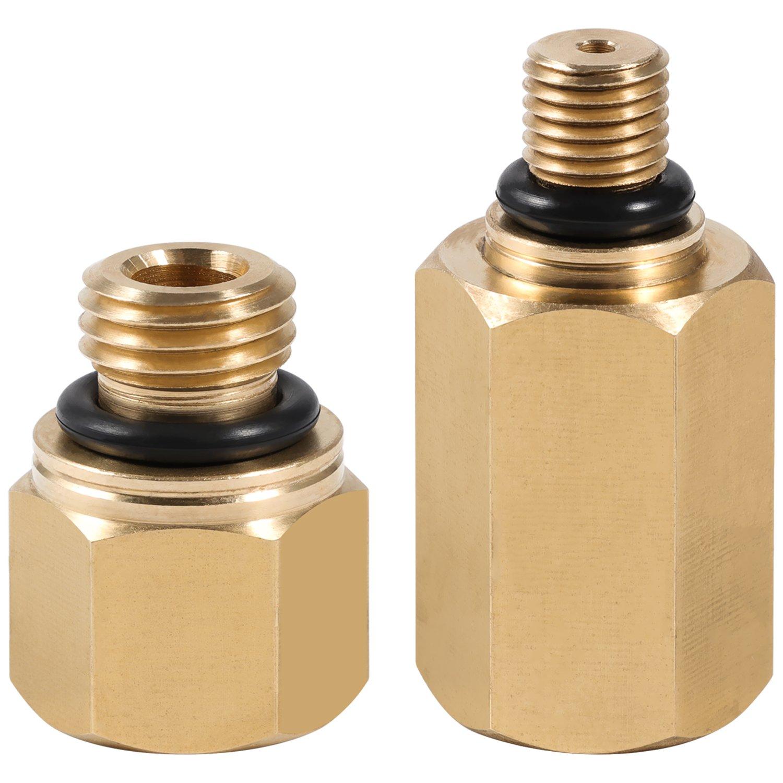 High Pressure Oil Rail Adapters Leak Test Kit for Ford 6.0L Diesel Engine(Fuel Rail) Sunluway