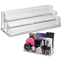 byAlegory Tiered Acrylic Eyeshadow Palette Makeup Organizer (Small Palettes, Compacts, Lipsticks, Lip Gloss, Eye Shadows…