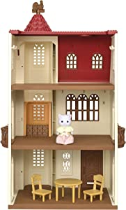 Sylvanian Families 5493 Red Roof Tower Home Doll House