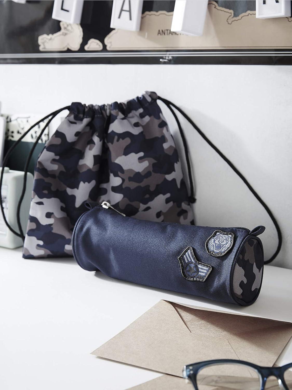 VERTBAUDET Sac /à go/ûter gar/çon motif camouflage Marine//camouflage TU