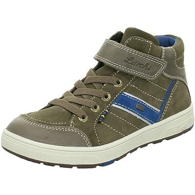 finest selection b5afc ef134 Lurchi Boys' 33-14770-27 Boots Grey Bungee Petrol: Amazon.co ...