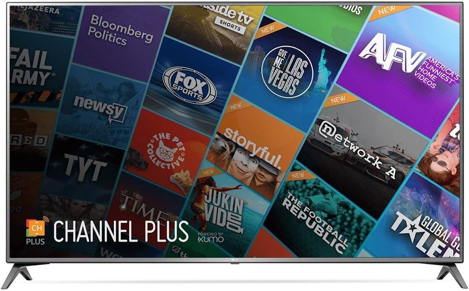 "LG Electronics 75UJ657A 4K UHD HDR Smart LED TV, 75"" (Certified Refurbished)"