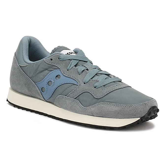 Amazon.com | Saucony Womens Aqua Grey DXN Vintage Sneakers-UK 3 | Fashion Sneakers