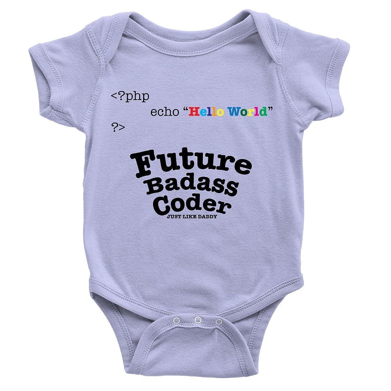 Future Badass Coder Babygrow Coder PHP Developer Funny Daddy Present