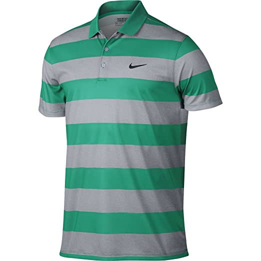 Nike Men s Golf Victory Bold Stripe Polo - Small - Teal Charge Black 0657ad09d