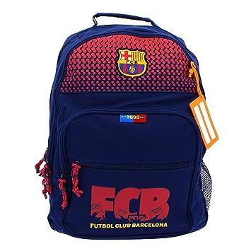 Safta Mochila F.C. Barcelona Corporativa Oficial Mochila Escolar, 320x160x420mm: Amazon.es: Equipaje