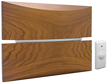 Wd 2830 Battery Operated Wireless Cherry Wood Multi Note Door Bell