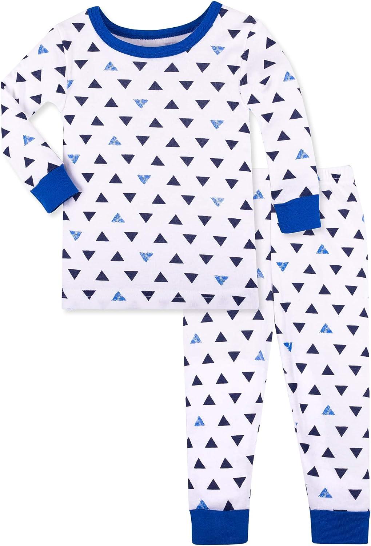 Lamaze Organic Baby Baby Boys Long Sleeve Tight Fit Pajamas