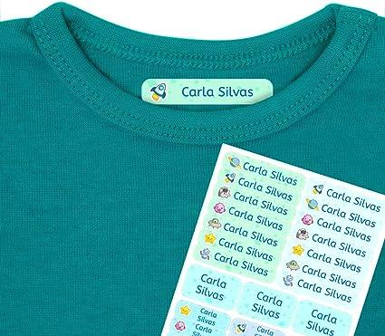 Etiquetas termoadhesivas personalizadas con tu texto | Etiquetas ...