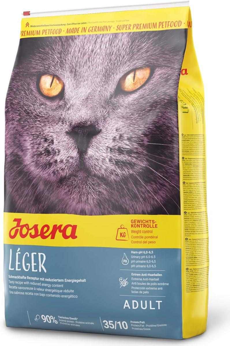JOSERA Saco de comida para Gato - Léger, 10kg, Gato