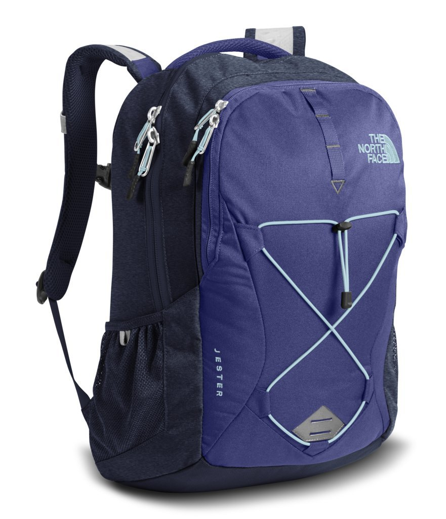 The North Face Women's Jester Backpack - Bright Navy & Urban Navy Heather - OS (Past Season) by The North Face