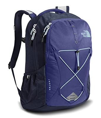 f61870d9 The North Face Women's Jester Laptop Backpack 15 Inch- Sale Colors (Bright  Navy)