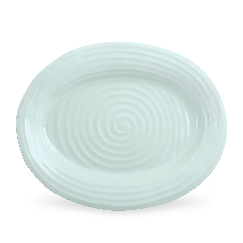 Portmeirion Sophie Conran Celadon Oval Platter, Large Portmeirion USA 506916