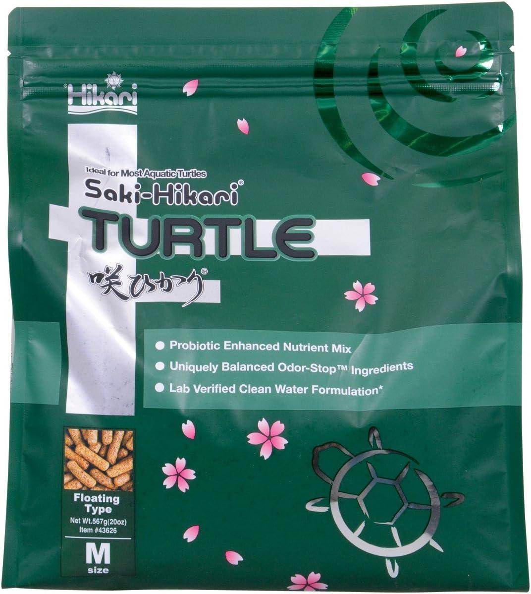 Hikari Saki Turtle Food Ideal for Most Aquatic Turtles