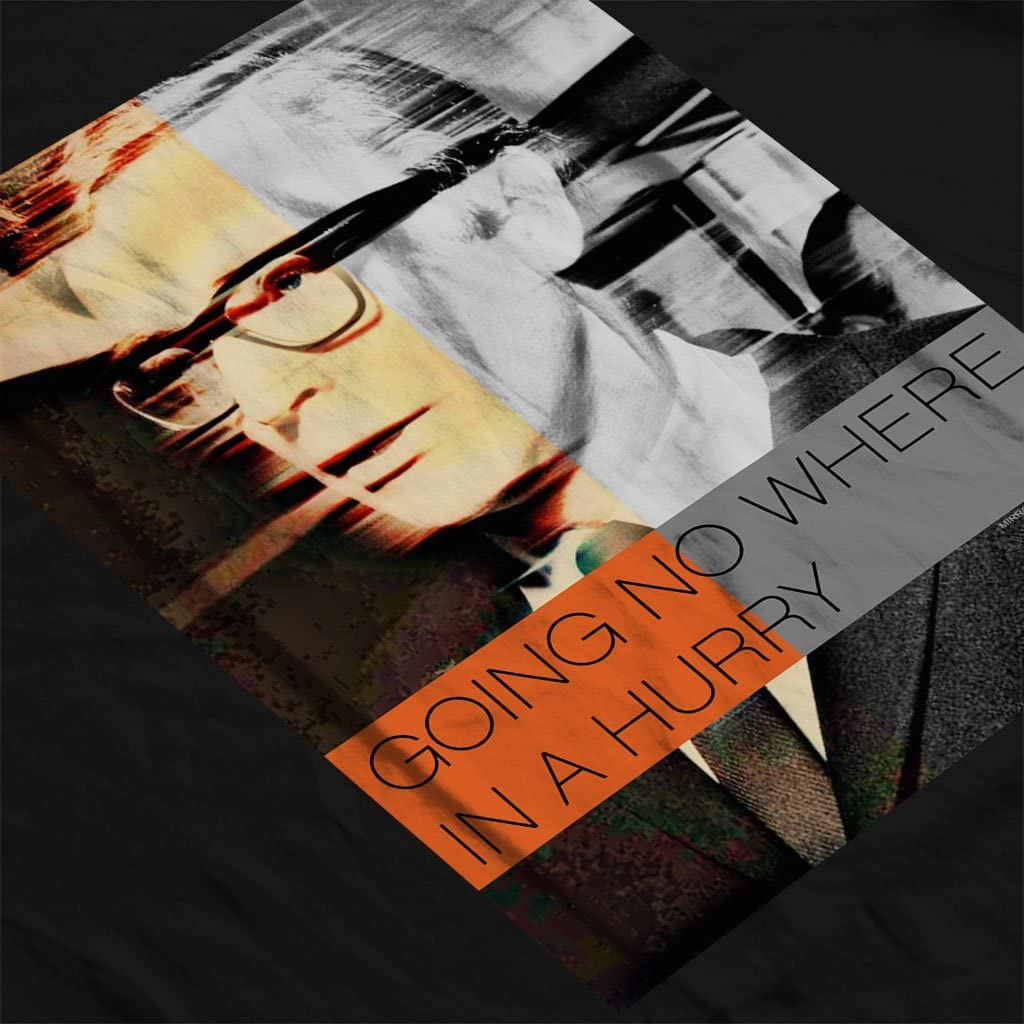 Michael Caine Get Carter Going No Where in A Hurry Poster Womens Vest