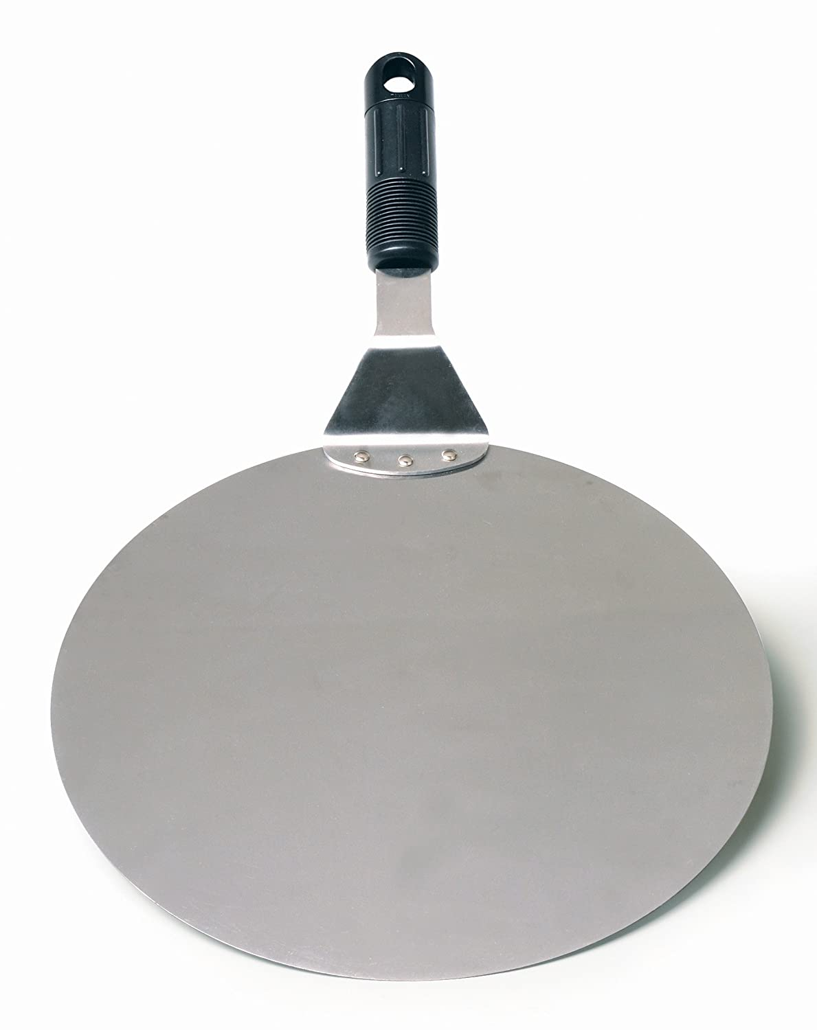 RSVP Endurance Stainless Steel Oven and Pizza Spatula, 10-inch Diameter
