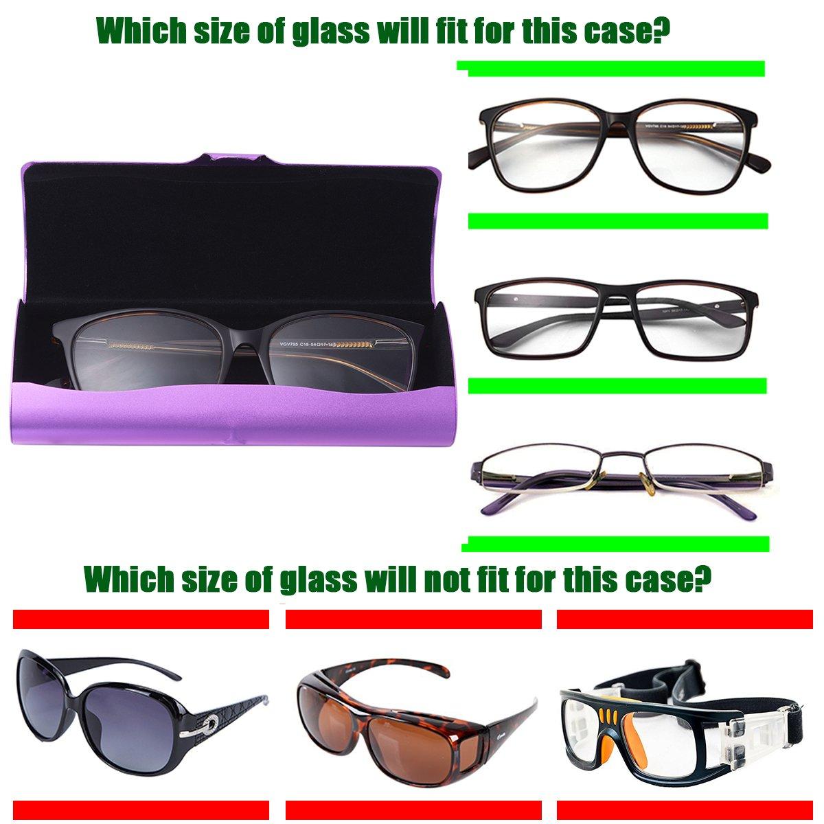 B-Black Philley Glasses Case Aluminum Ultra-Light Frosted Myopia Eyeglasses case