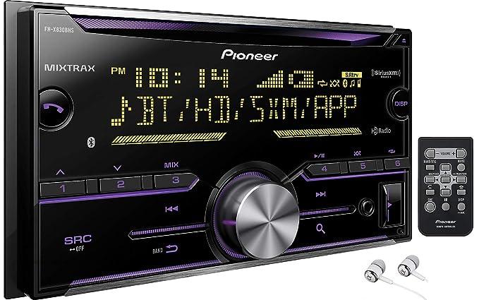 Pioneer Double DIN In-Dash Built-in Bluetooth iPod iPhone HD Radio CD AM/FM  MP3, Front USB, Pandora, iHeartRadio Spotify SiriusXM Satellite Radio