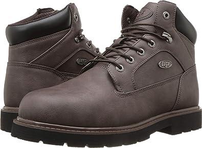 87e7a3f833c Amazon.com: Lugz Men's Mortar Mid Steel Toe Chukka Boot: Shoes