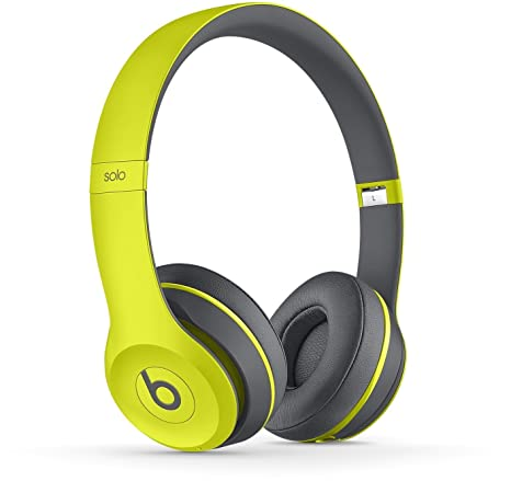 Beats Solo2 - Auriculares in-Ear, Color Amarillo