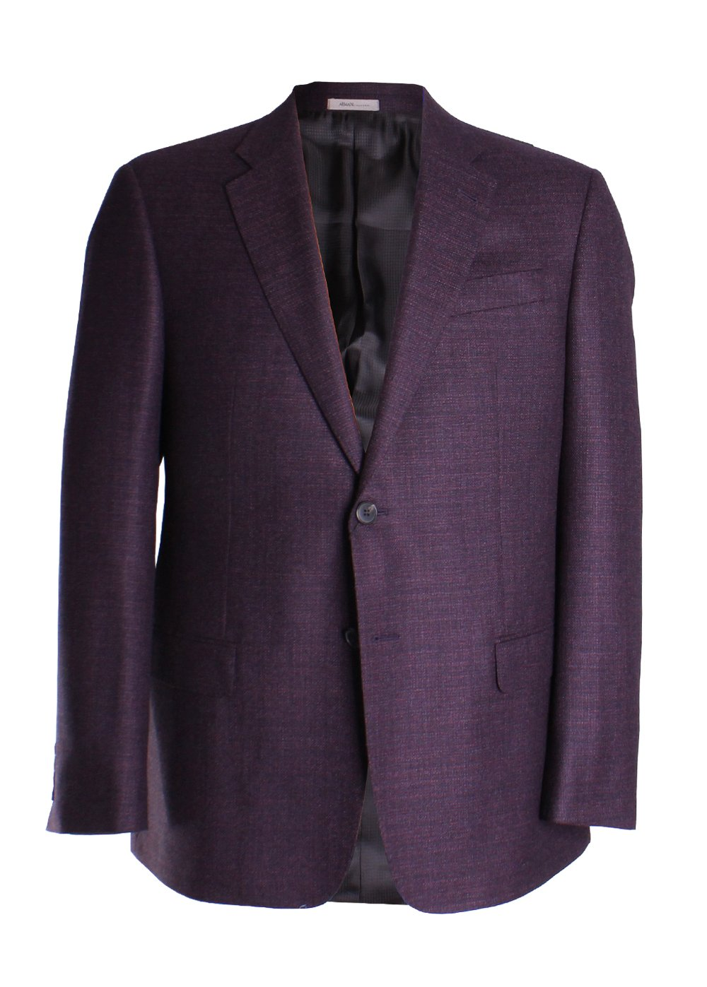 Armani Sportcoat ZC641 48L Solid Dark Red