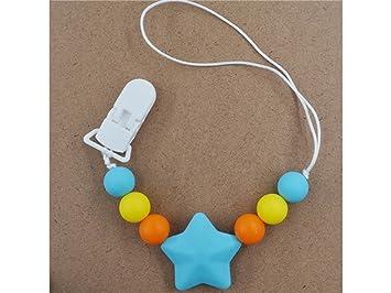 UHUA Pentagram gel de sílice dentición del bebé clip de ...