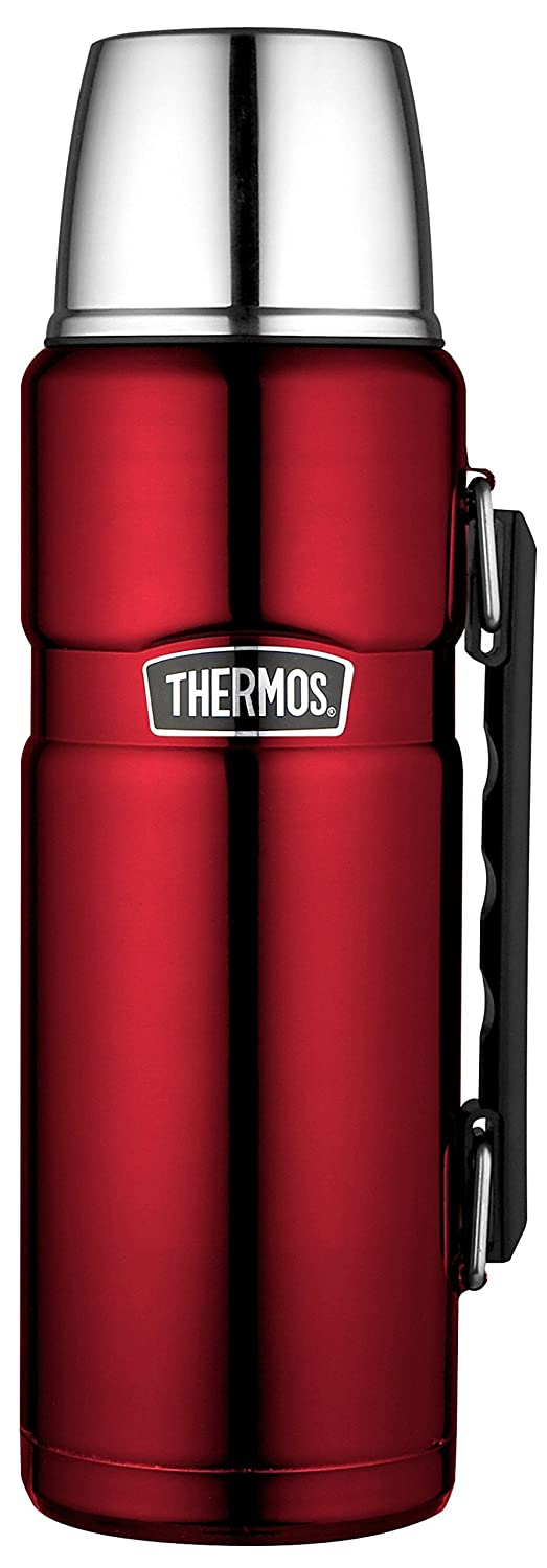 Thermos 1.2 Litre Stainless Food Flask, Red 184803