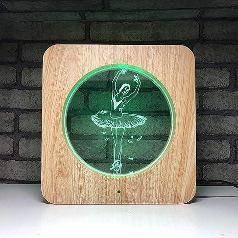 Luz Nocturna Infantil Lámpara De Mesa Creativa Para Lámpara De ...