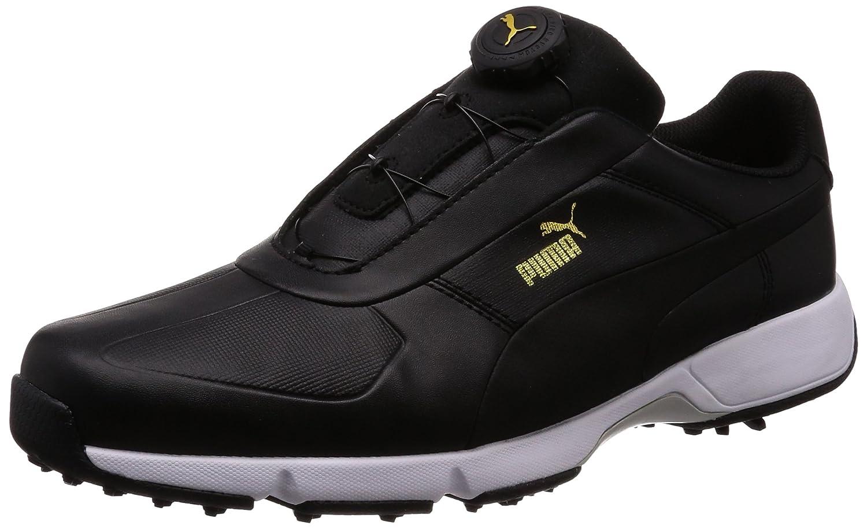 Puma Golf Herren Ignite-Laufwerk Disc-Golf-Schuhe  75 UK|Schwarz