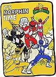 "Power Rangers ""It's Morphin Time"" 36""X58"" Fleece Throw Blanket"