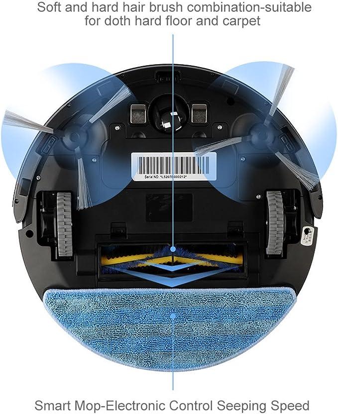 Robot de aspiración Bagotte, 3-en-1, con función limpiadora y ...