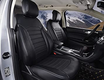 Bwen Zda Ford Seat Coveraritificial Leather Custom Seat Covers Only Fit For Ford Edge