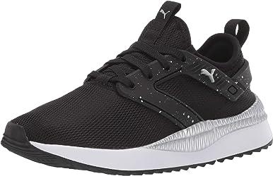 Puma Pacer Next Excel - Zapatillas deportivas para mujer, color negro y plateado