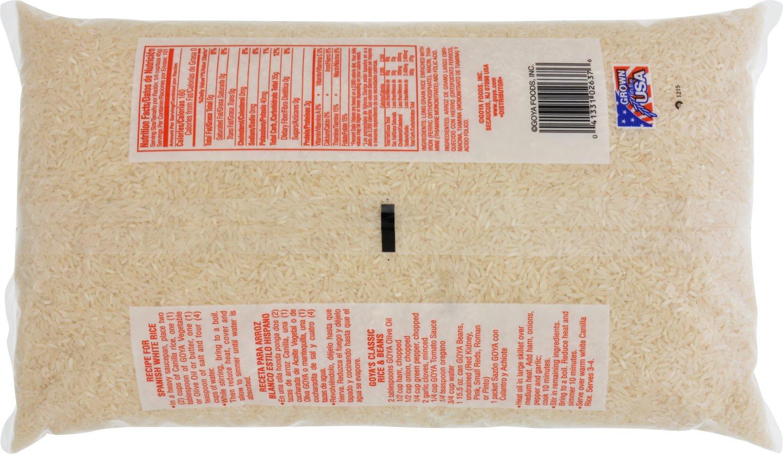 Arroz de grano largo extra elegante Goya Canilla: Amazon.com ...