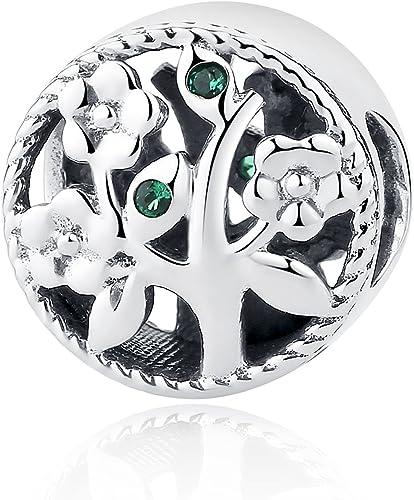 Charm en Argent sterling 925 Arbre de vie Pour bracelets/colliers ...