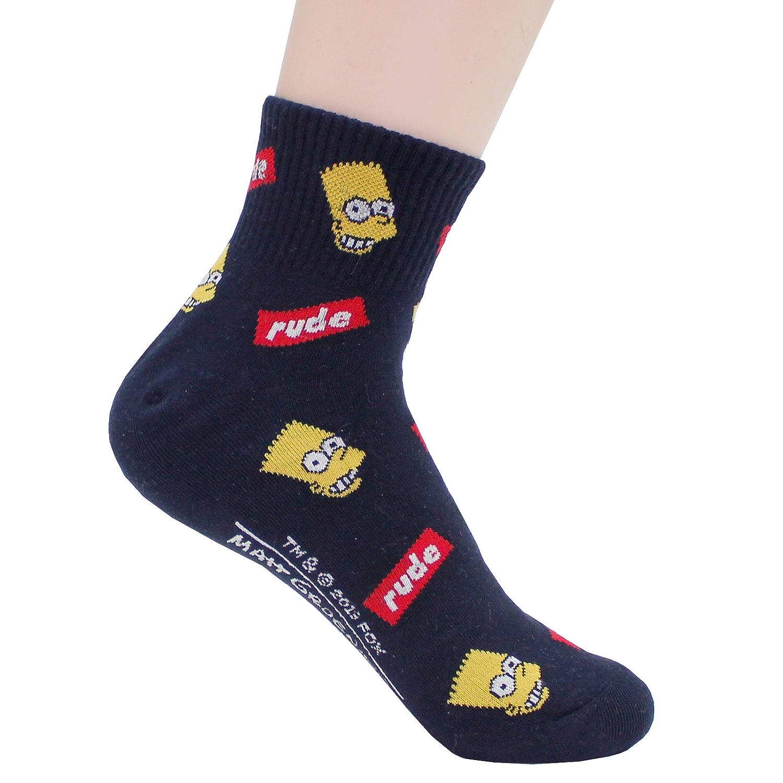 EVEI The Simpsons Cartoon Series Womens Mens Original Socks