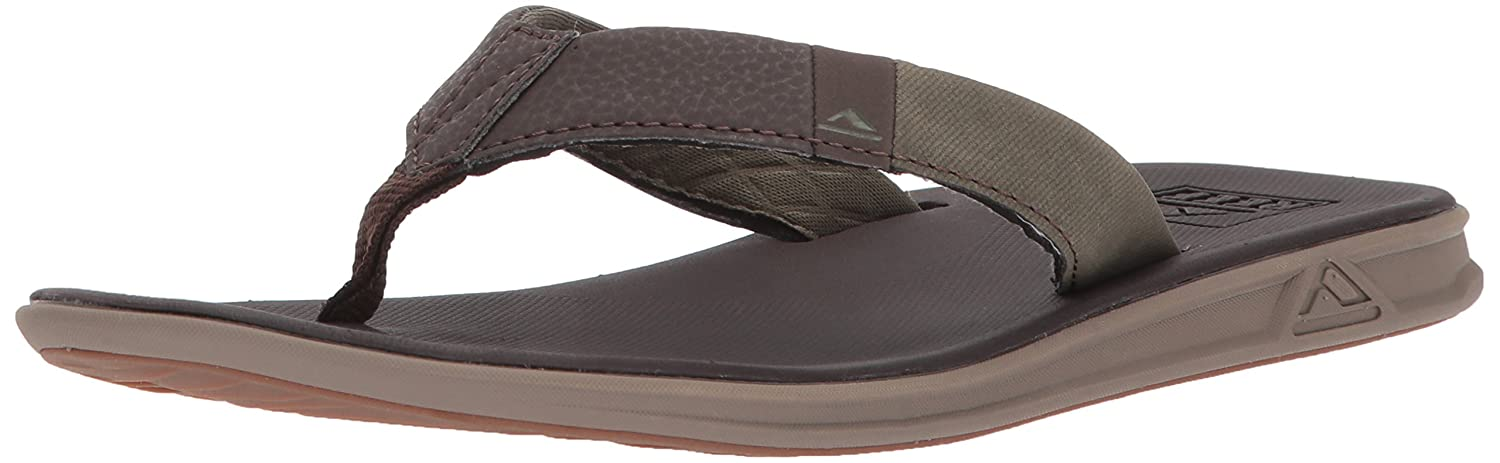 Reef Slammed Rover Brown/Olive, Chanclas para Hombre