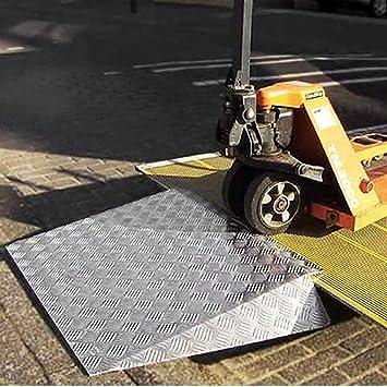 Rampas para Silla de Ruedas rampa de umbral para sillas de Ruedas, Scooters de Movilidad y sillas eléctricas, con Resistencia al Deslizamiento: Amazon.es: ...