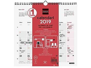 Finocam 781530019 - Calendario de pared 2019