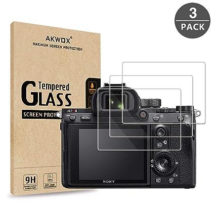 "3 Pack Cámara LCD Film Protector de pantalla para Sony CyberShot DSC RX10 III 3/"""