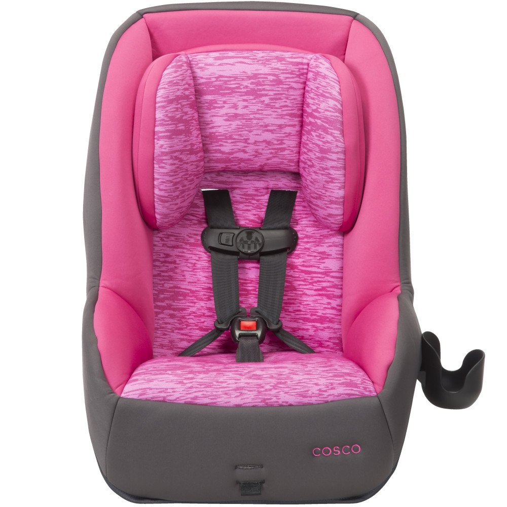 Amazon com cosco mighty fit 65 dx convertible car seat heather rose pink baby