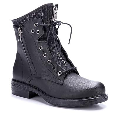 Schuhtempel24 Damen Schuhe Klassische Stiefeletten Stiefel